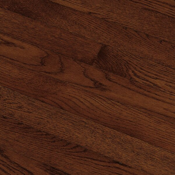 Fulton 2-1/4 Solid Red / White Oak Hardwood Flooring in Cherry by Bruce Flooring