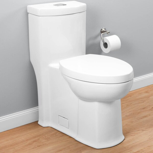 Boulevard Right Height 1.6 GPF Elongated One-Piece Toilet by American Standard