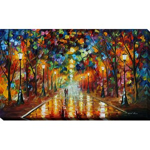 Farewell to Anger by Leonid Afremov Painting Print on Wrapped Canvas by Picture Perfect International