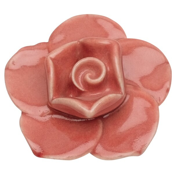 Nature Flower Ceramic Novelty Knob by Atlas Homewares