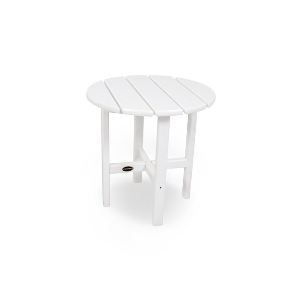 """Recycled Plastic 18"""" Side Table by POLYWOOD®"""