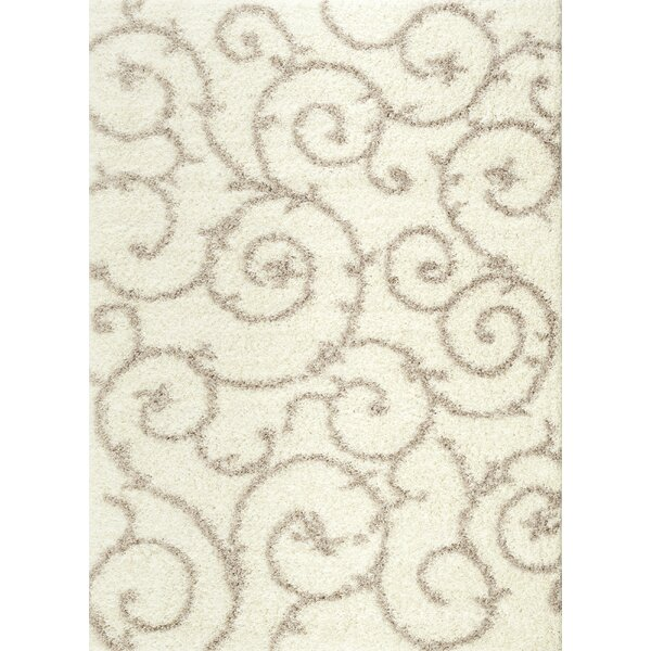 Birdsall Cream Area Rug by Andover Mills