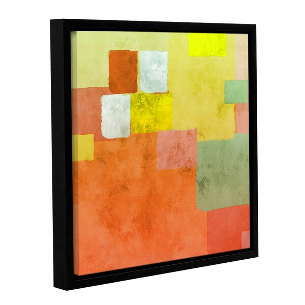 Abstract Squares III Framed Painting Print on Wrapped Canvas by Langley Street