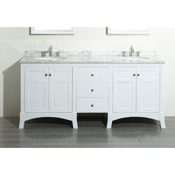 Piccirillo 72 Double Bathroom Vanity Set by Brayden Studio