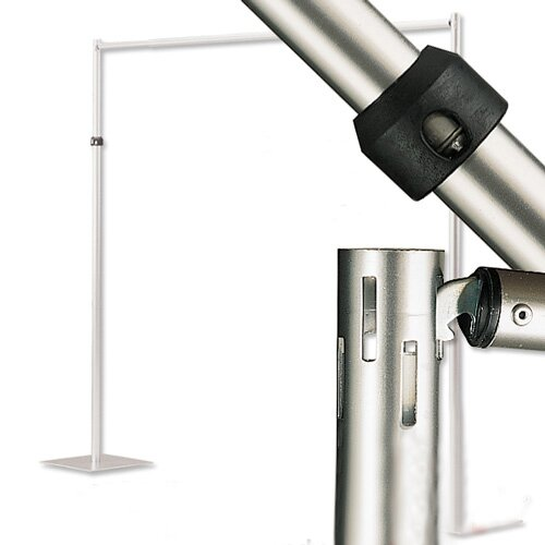 Horizontal Drape Supports for Pipe and Drape Runoffs by Draper