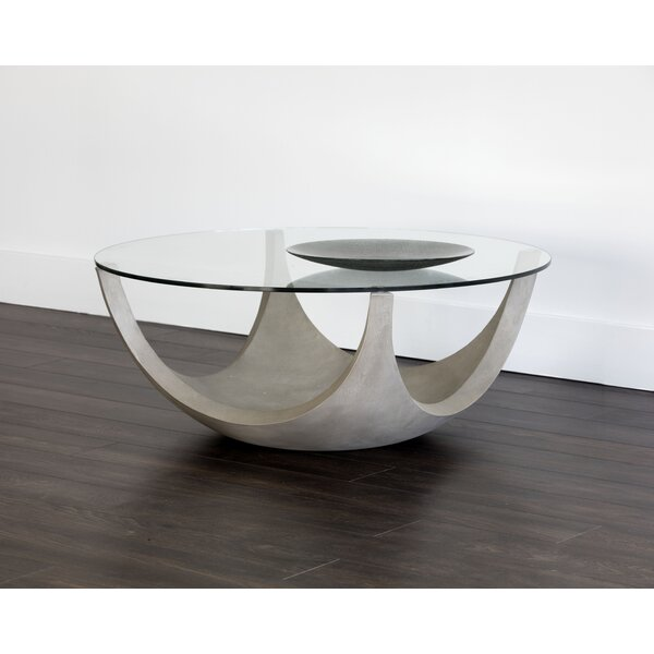 17 Stories Glass Top Coffee Tables