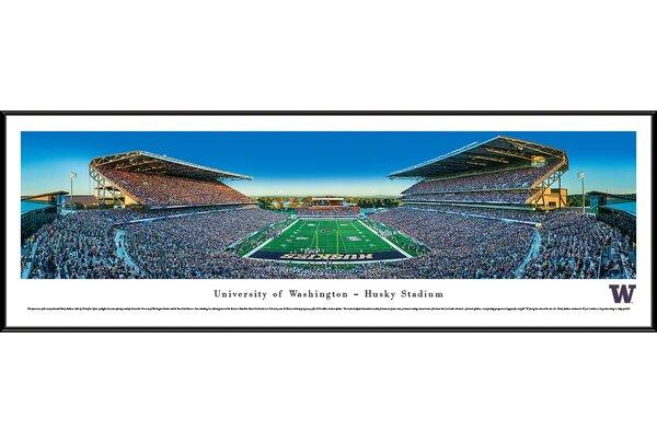 NCAA Washington, University of - Football by Christopher Gjevre Framed Photographic Print by Blakeway Worldwide Panoramas, Inc