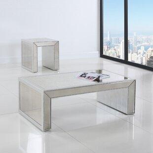 Jade Mirrored Coffee Table Wayfair - Wayfair mirrored coffee table