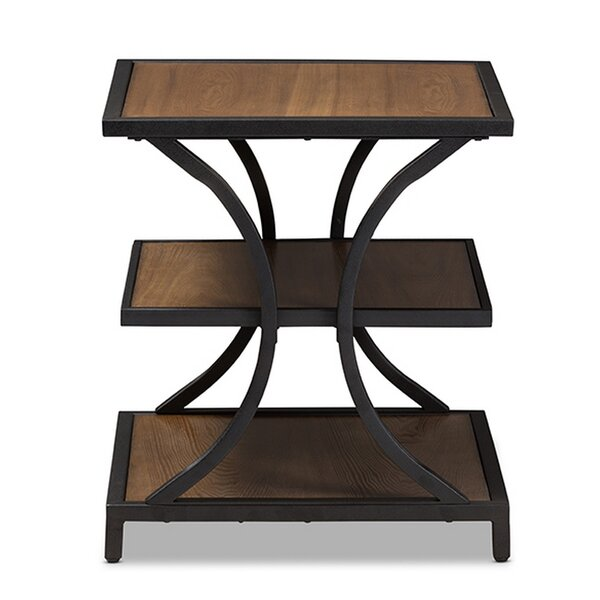 Cheyanna End Table by Williston Forge