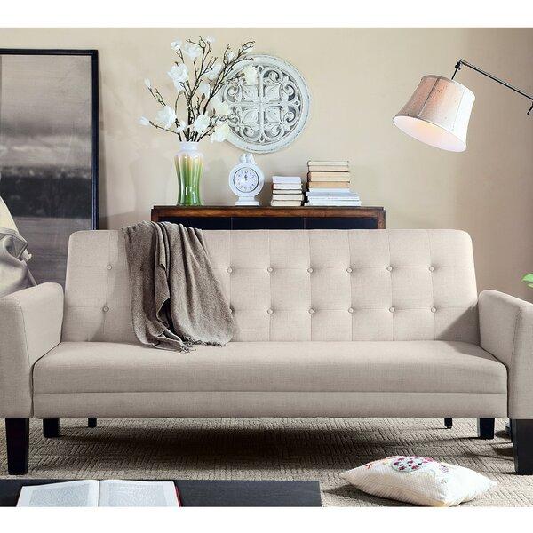 Arianna Convertible Sleeper Sofa by Rosevera Home