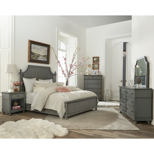 Lesli Standard Configurable Bedroom Set by Bungalow Rose