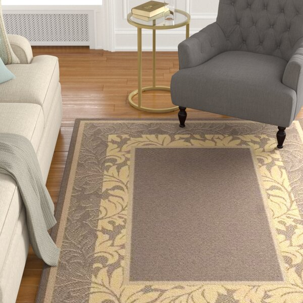 Fenmore Brown/Tan Indoor/Outdoor Area Rug by Charlton Home