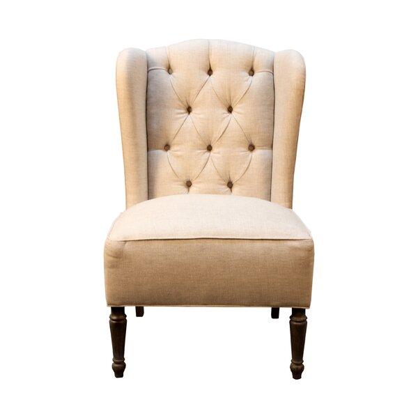 Vanina Wingback Chair by One Allium Way
