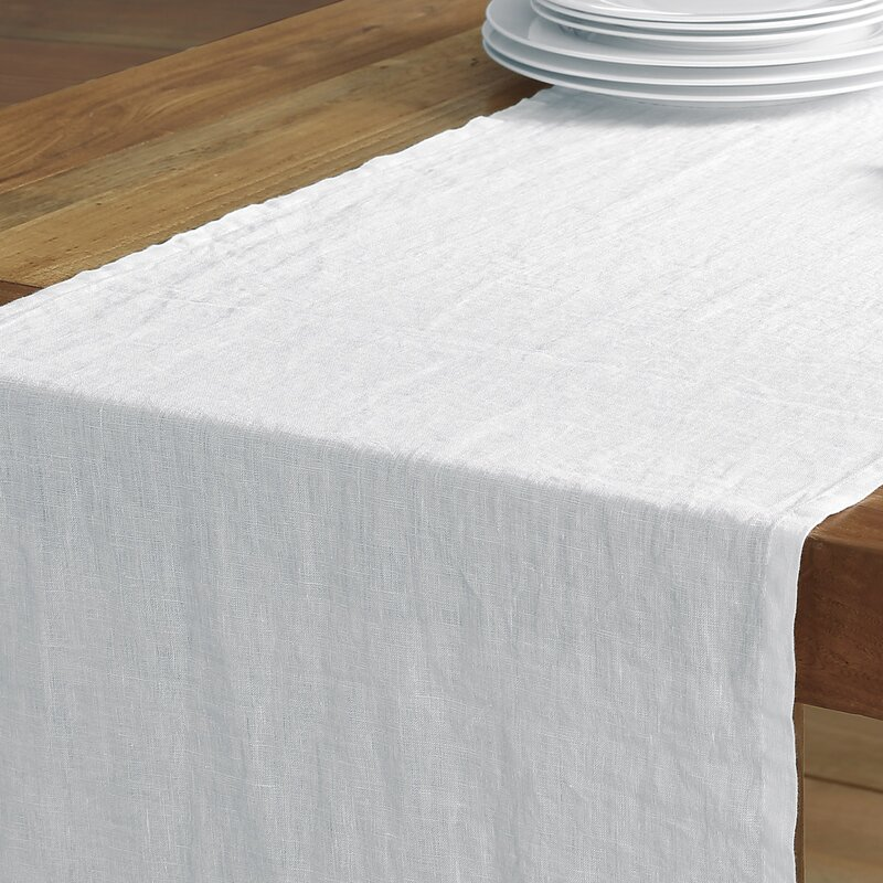 Catuzzi Washed Belgian Linen Table Runner
