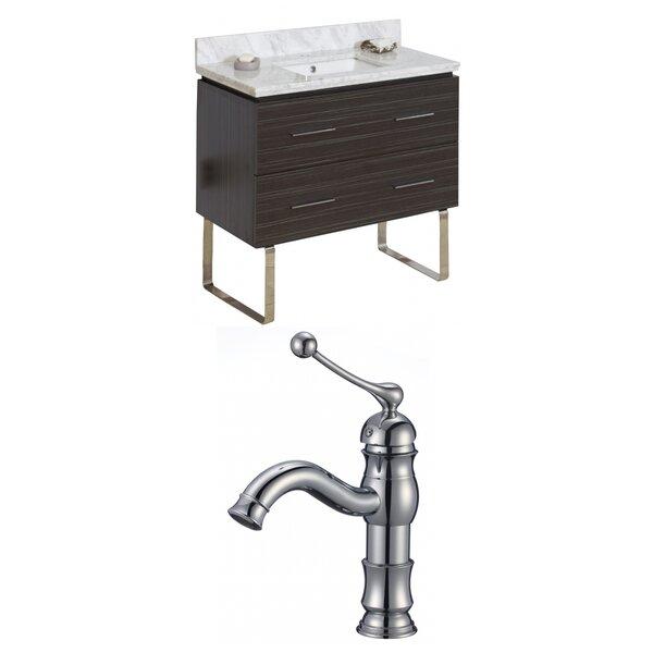 Kyra 36 Single Bathroom Vanity Set with 2 Drawers by Orren Ellis