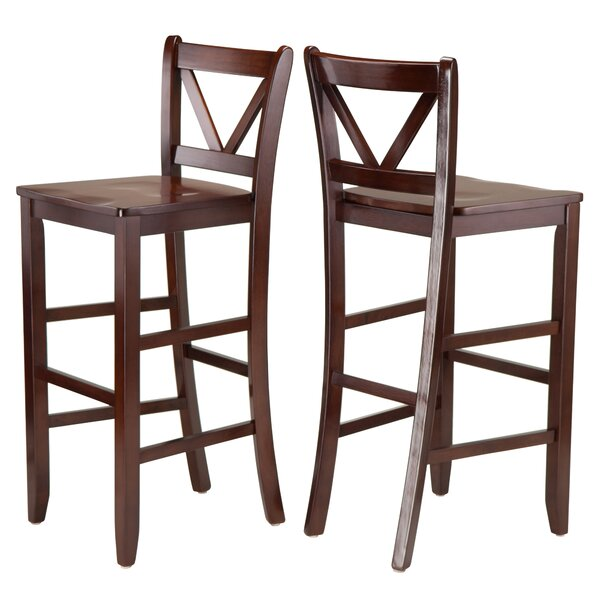 Victor 30 Bar Stool (Set of 2) by WinsomeVictor 30 Bar Stool (Set of 2) by Winsome