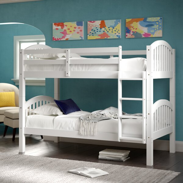 Sonia Twin over Twin Bunk Bed by Harriet Bee