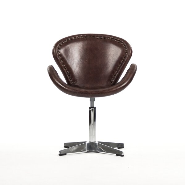 Tomas Swivel Side Chair by Zentique Zentique