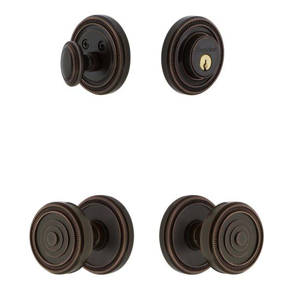 Soleil Single Cylinder Knob Combo Pack by Grandeur