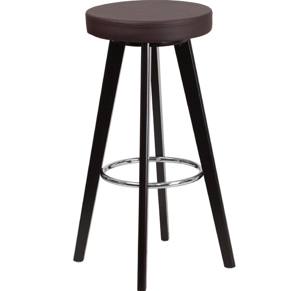 Salerno Contemporary 30 Bar Stool by Ebern Designs
