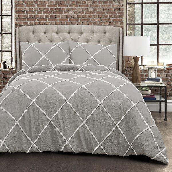 Tobin 3 Piece Reversible Comforter Set by Wrought Studio