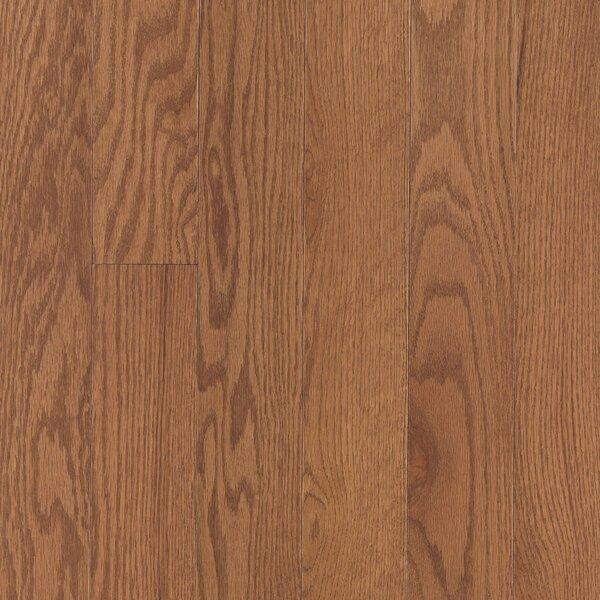 Randhurst Random Width Engineered Oak Hardwood Flooring in Saddle by Mohawk Flooring