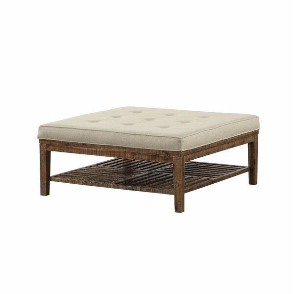 Rory Square Tufted Cocktail Ottoman by Foundry Select