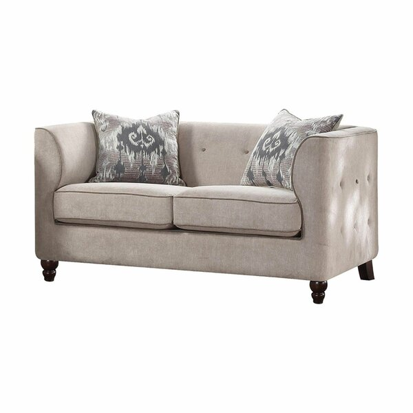 Dann Upholstery Loveseat By Charlton Home