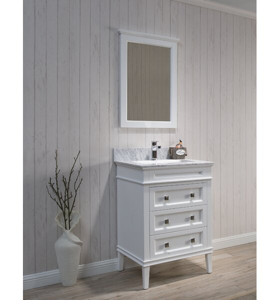 @ Briese 25 Single Bathroom Vanity Set with Mirror by Wrought Studio| #$0.00!