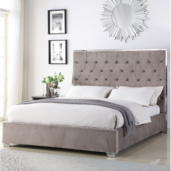 Hungerford Upholstered Platform Bed by Everly Quinn