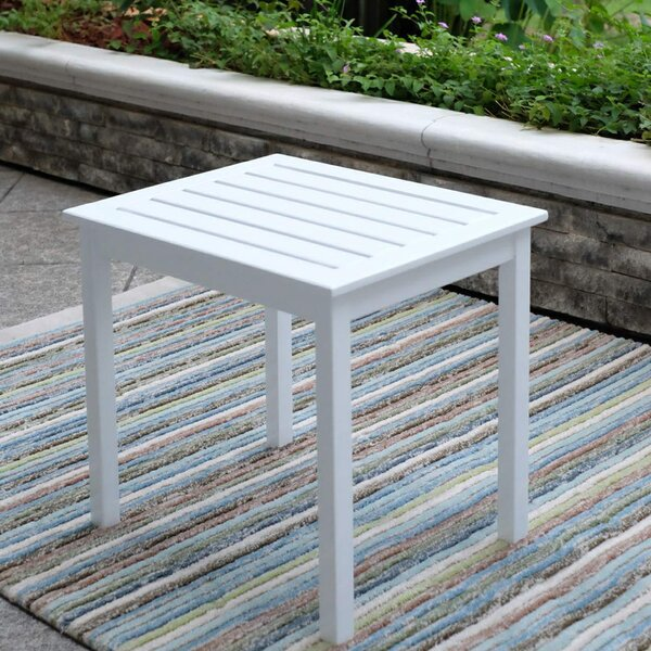 Rajesh Wooden Side Table by Gracie Oaks