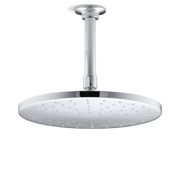 Contemporary Round 10 Rainhead with Katalyst Air-Induction Spray, 2.5 Gpm by Kohler