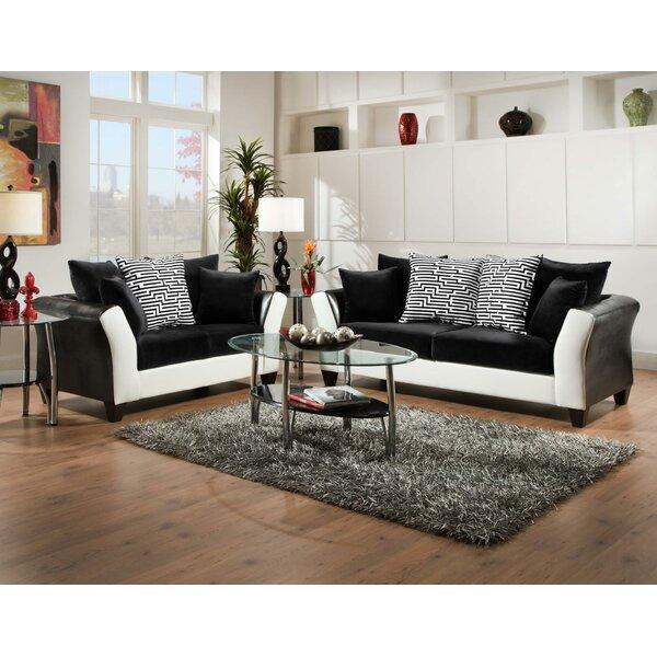 Fofana 2 Piece Living Room Set by Ebern Designs
