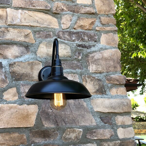 Mains Outdoor Barn Light by Gracie Oaks