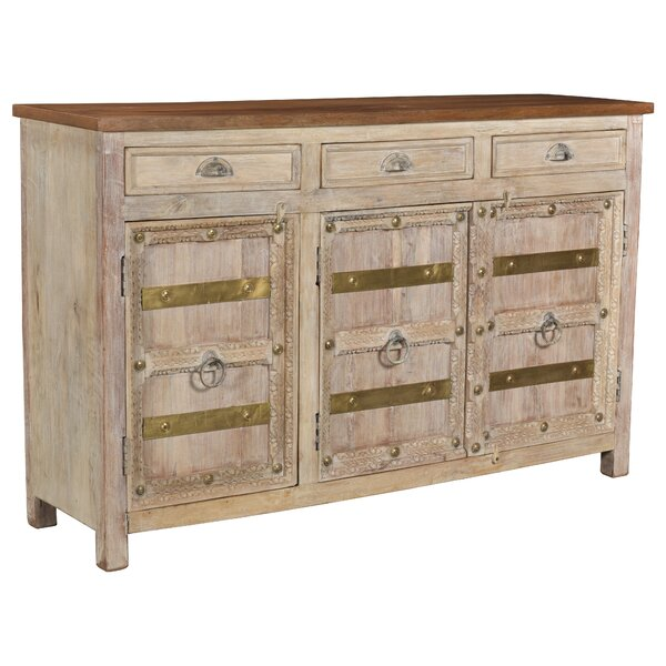 Biggs 3 Drawer 3 Door Sideboard by Breakwater Bay Breakwater Bay
