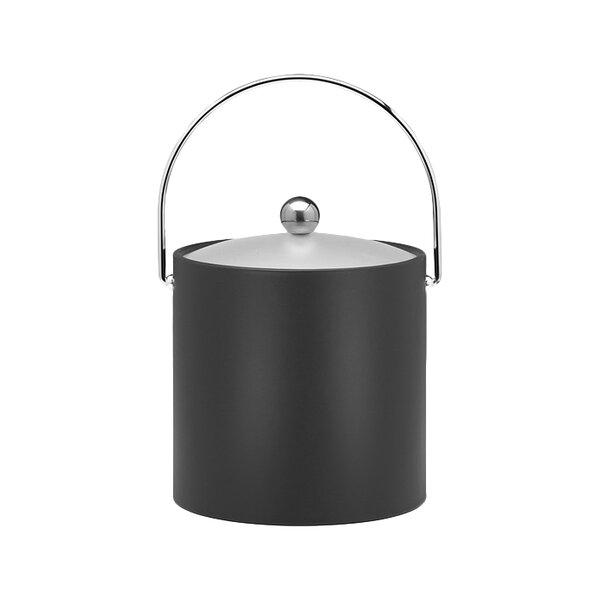 Binegar 3 Qt. Ice Bucket in Black by Langley Street