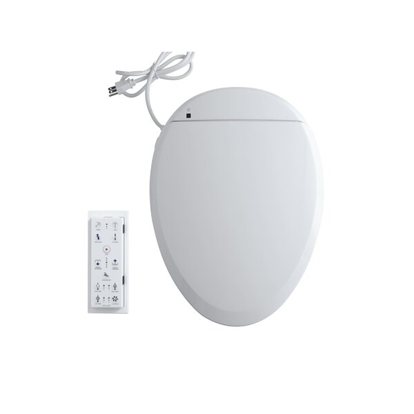C3 201Elongated Bidet Toilet Seat with In-Line Hea