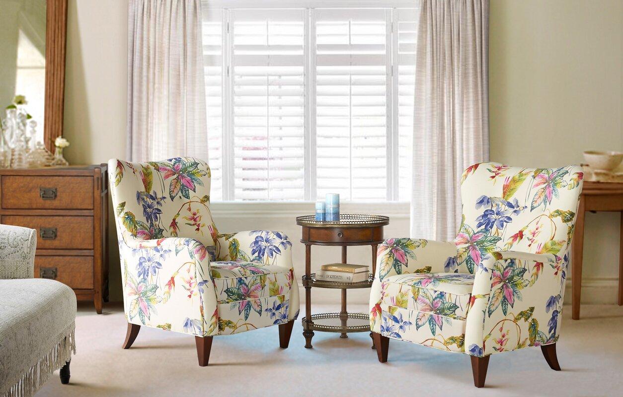 Bay Isle Home Bridgewater Upholstered Armchair & Reviews | Wayfair