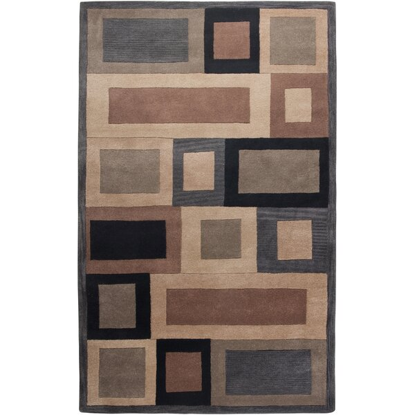 Umbergaon Hand-Tufted Blue Area Rug by Meridian Rugmakers