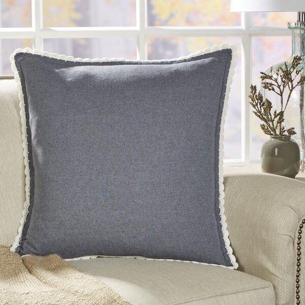 Crochet Seabury Chambray Pillow Cover by Birch Lane™