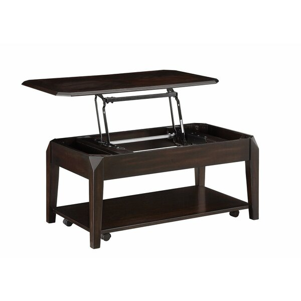 Iseminger Solid Wood Lift Top Extendable Coffee Table With Storage By Winston Porter