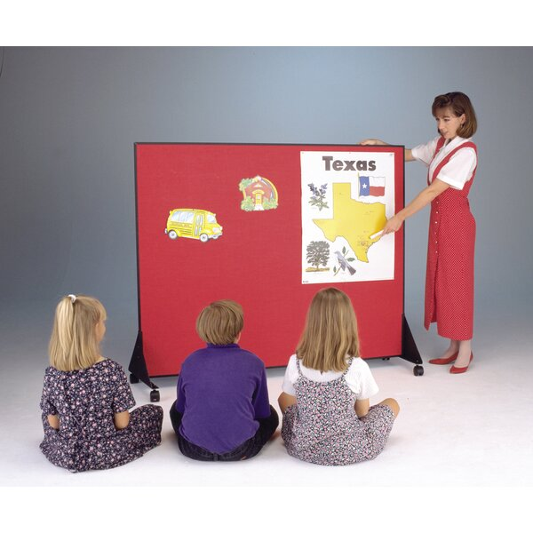 Preschool Dividers - Flannel Free Standing Bulletin Board by Best-Rite®