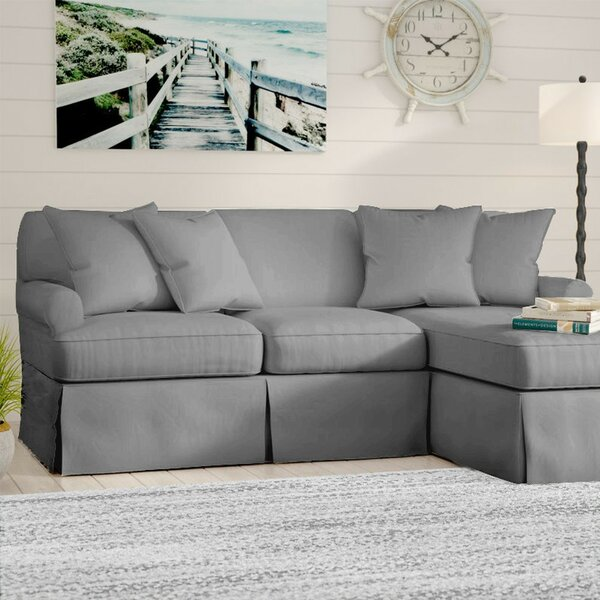 Telluride Sofa Slipcover by Laurel Foundry Modern Farmhouse