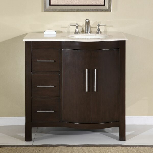 Bissette 36 Single Bathroom Vanity Set by Andover Mills