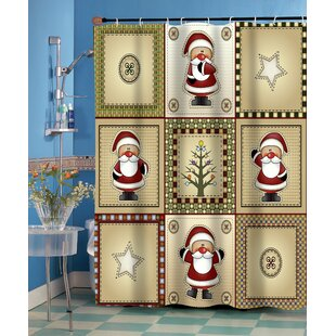 Affordable Americana Holiday Shower Curtain ByBen and Jonah