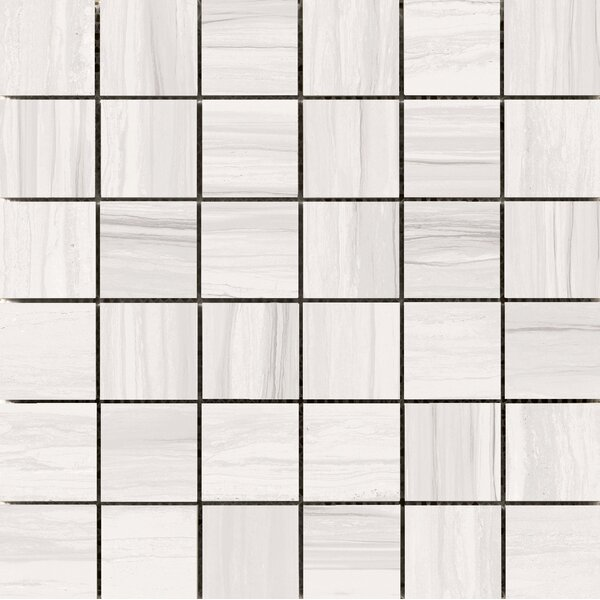 Ciudad 2 x 2 Ceramic Mosaic Tile in Ash by Emser Tile