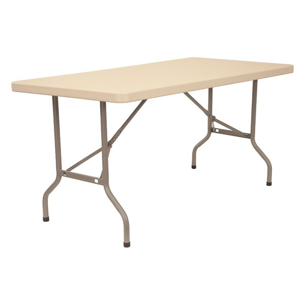 Blow Mold Folding Table by KFI Seating