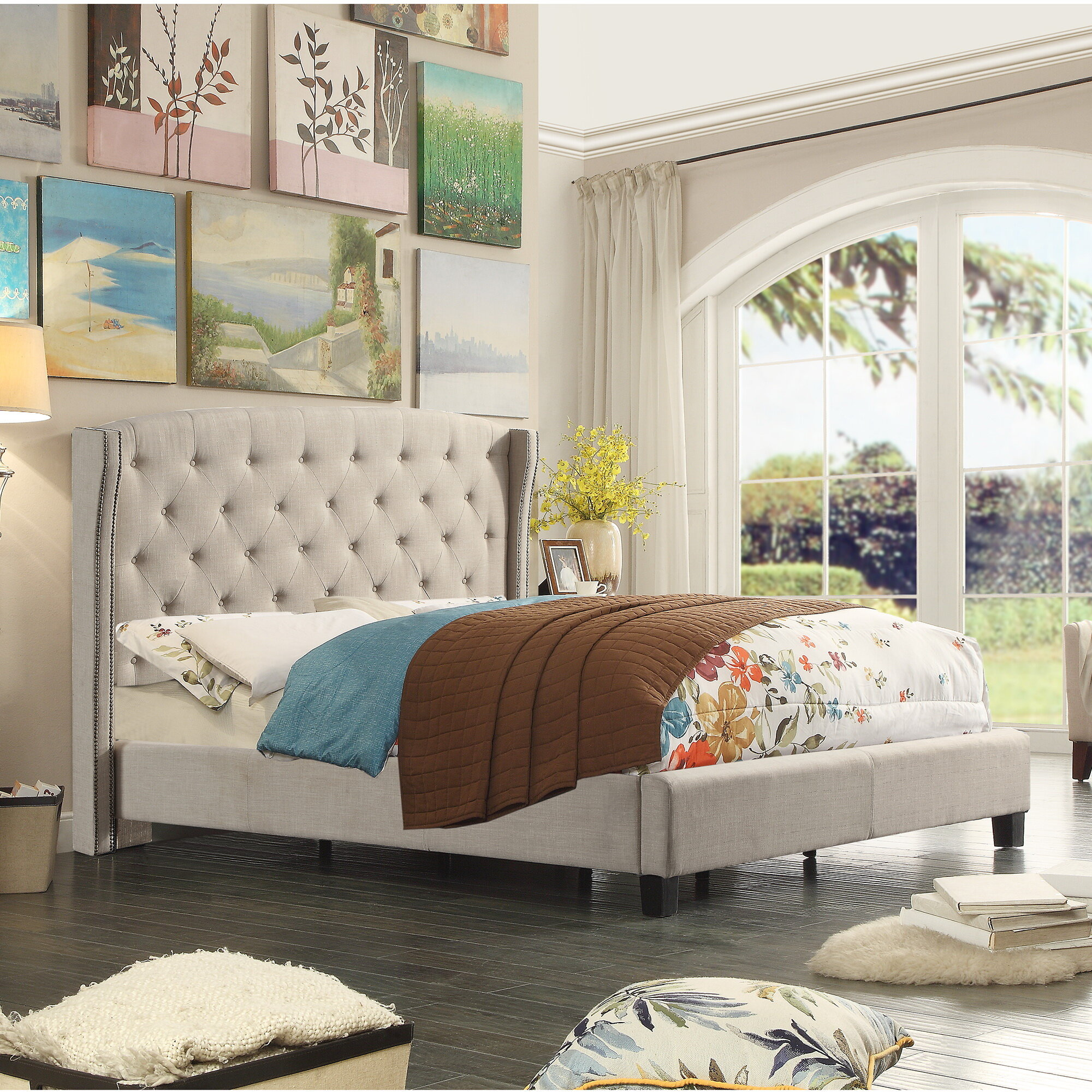 Wingback Beds You Ll Love In 2021 Wayfair