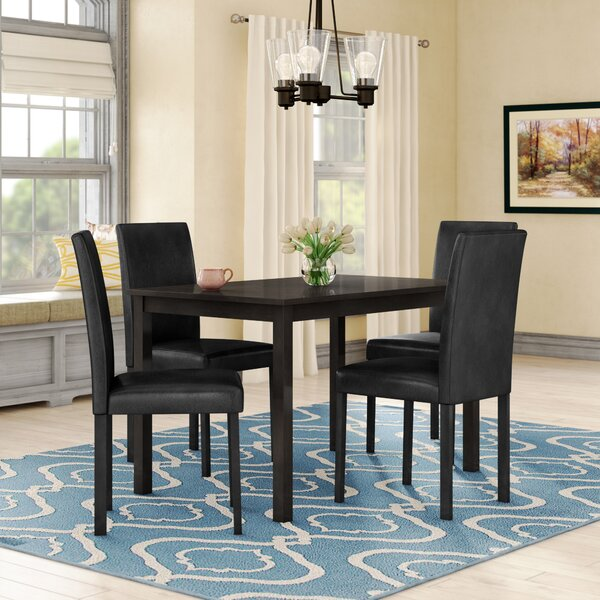 Elderton 5 Piece Dining Set by Andover Mills