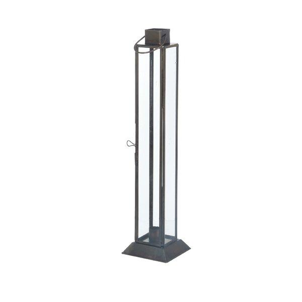 Skinny Taper Metal Lantern by Breakwater Bay